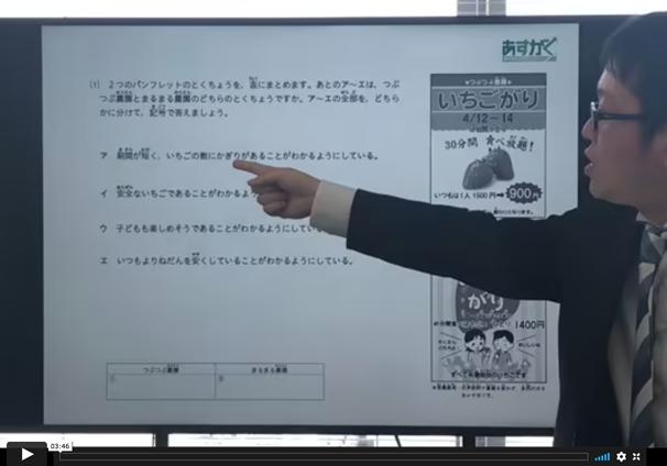 解説授業動画
